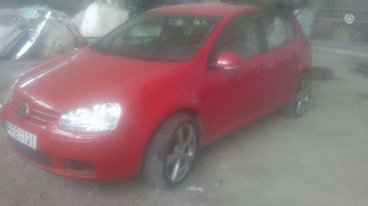 Volkswagen Golf. Dalimis golf v gt