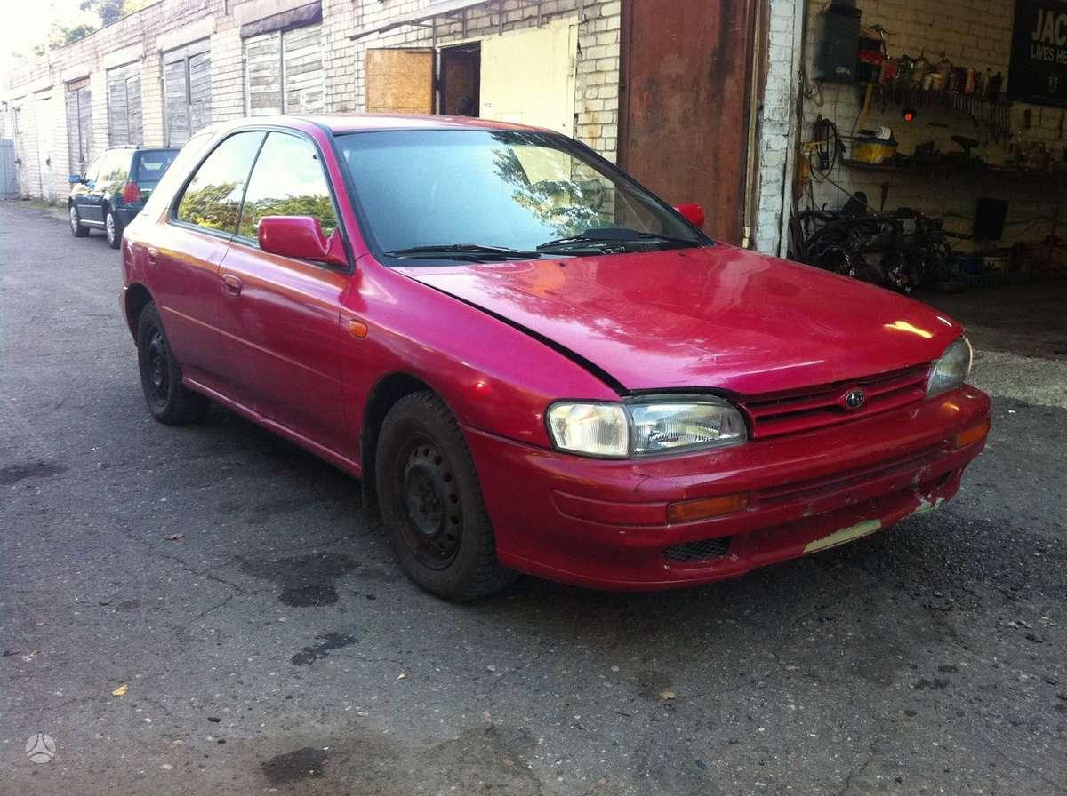 Subaru Impreza. Naudotos automobiliu dalys japoniski ir vokiski