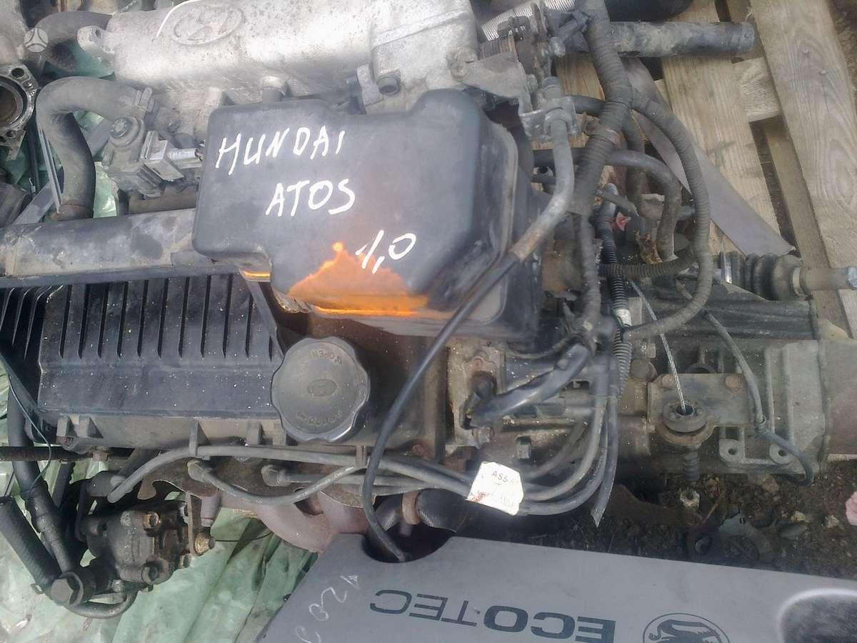 Hyundai Atos.   kapotas, galinis dangtis, variklis ir t.t.
