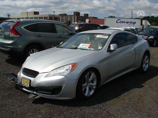Hyundai Genesis. 2010 - 2014 genesis coupe dalys pristatymas i