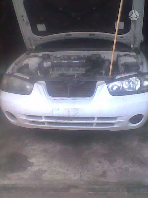 Hyundai Elantra. El.langai el.veidrodziai oro kondicionierius