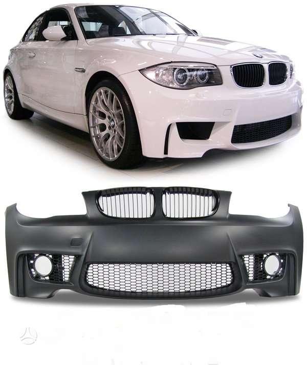 BMW 1 serija. tuning dalys. m bamperiai ,[ plastmasiniai [ abs].