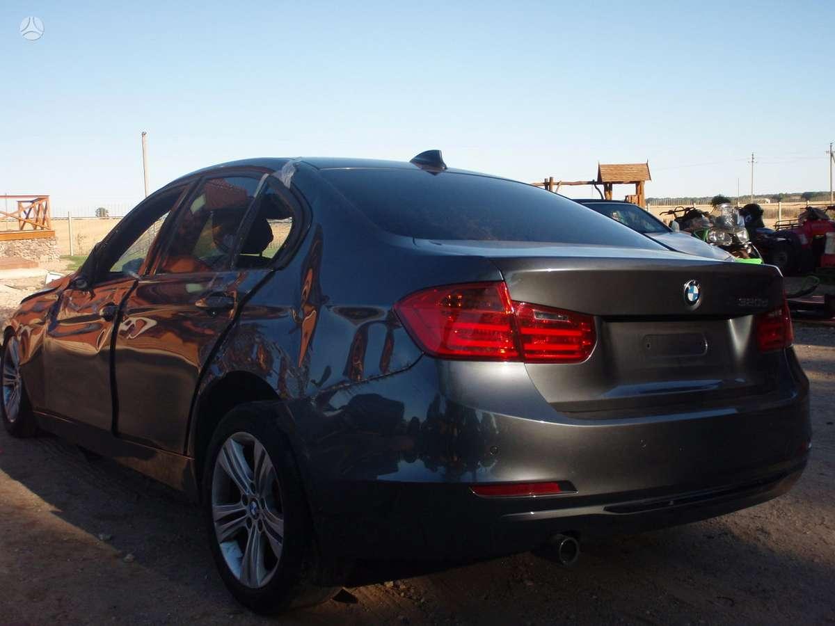 BMW 3 serija dalimis. Bmw 318d ir 320d  f30 2012-2013m. dalimis