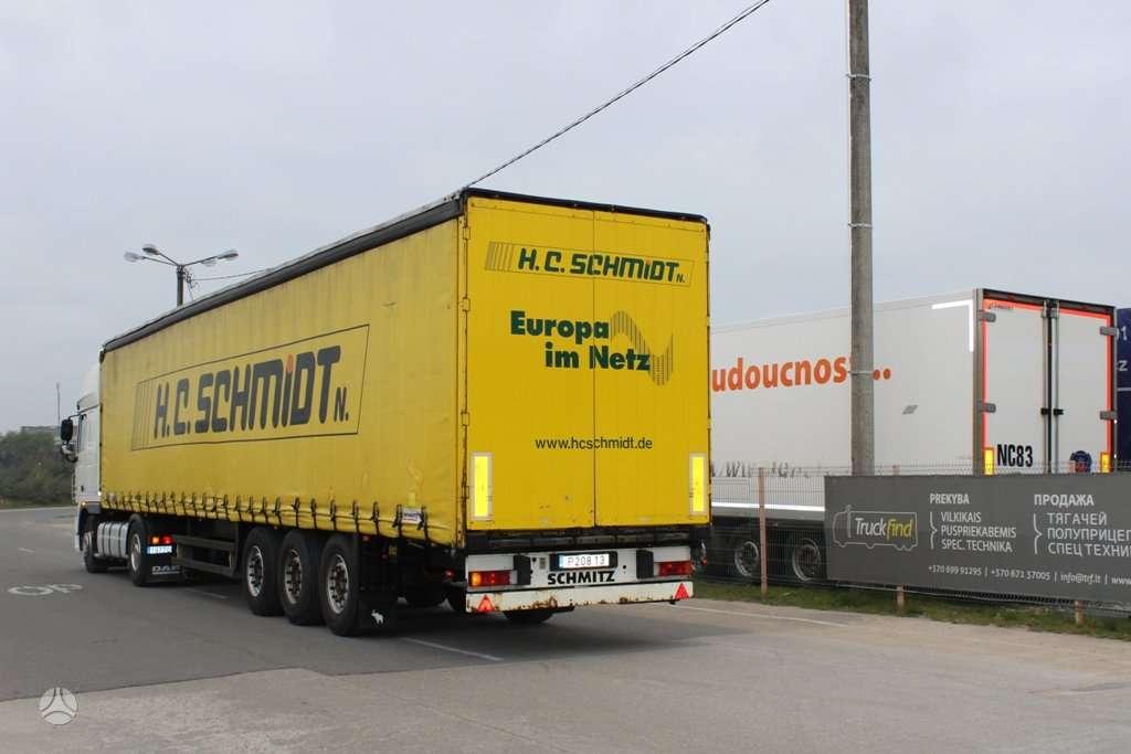 Schmitz, DVIEJŲ AUKŠTŲ, priekabų ir puspriekabių nuoma