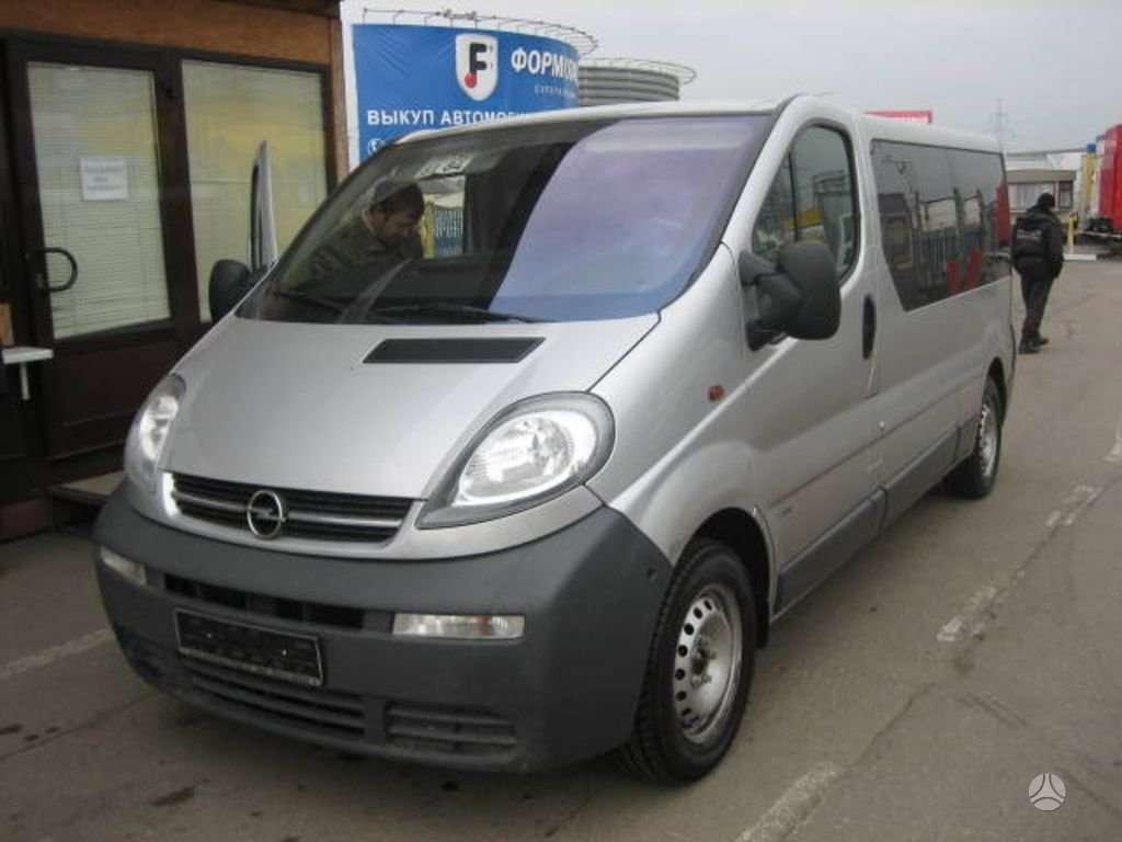 Opel, vivaro, krovininiai mikroautobusai