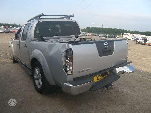 Nissan Navara. 2.5 tdi mechanika dalimis is anglijos