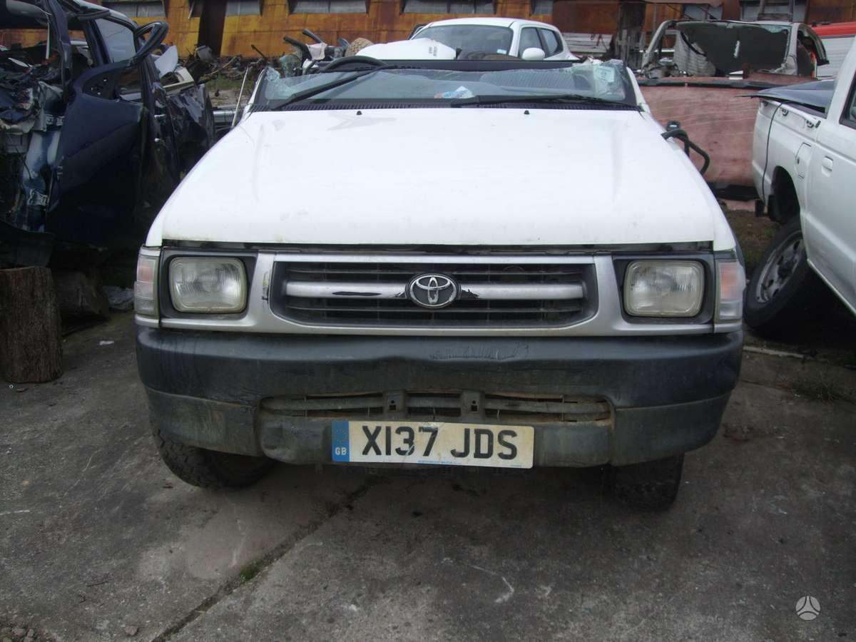 Toyota Hilux. доставка бу запчастей с разтаможкой в минск (рб) и