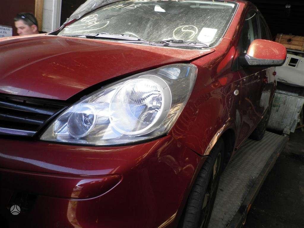 Nissan Note dalimis. 1.5 dci mechanika dalimis is anglijos