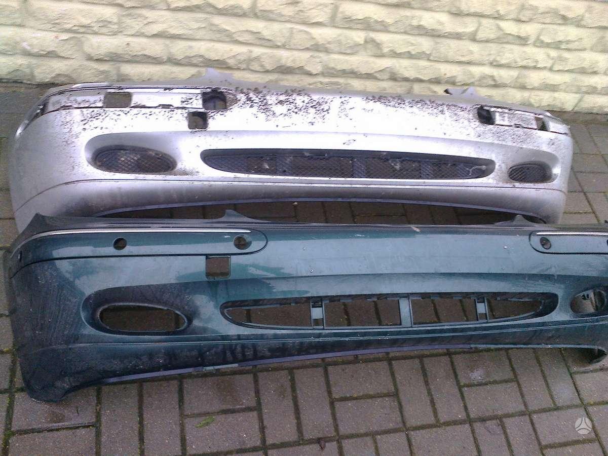 Mercedes-Benz S400 dangtis (priekinis, galinis), bamperiai, žibintai