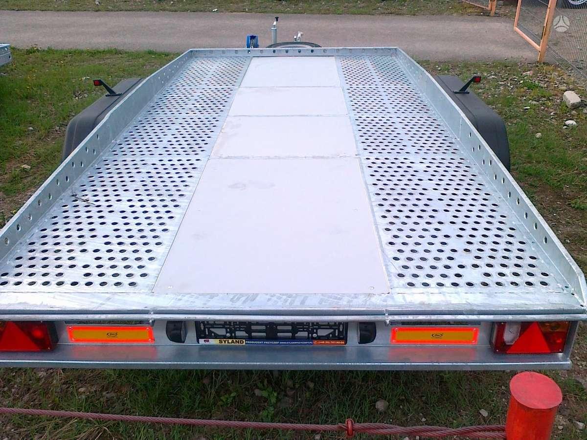 Syland Syland traliukas 400/200, lengvųjų automobilių priekabos