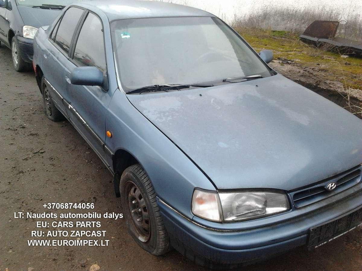 Hyundai Lantra dalimis. Naudotos dalys - hyundai lantra 1993 1.