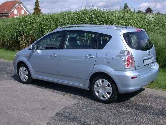 Toyota Corolla Verso. Is sveicarijos (( ch ))  868545183