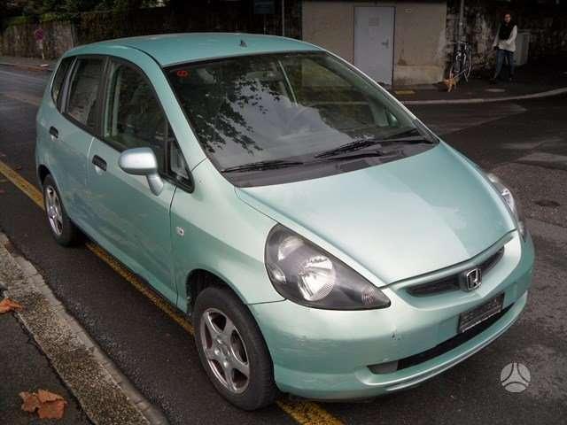Honda Jazz. Is sveicarijos (( ch ))