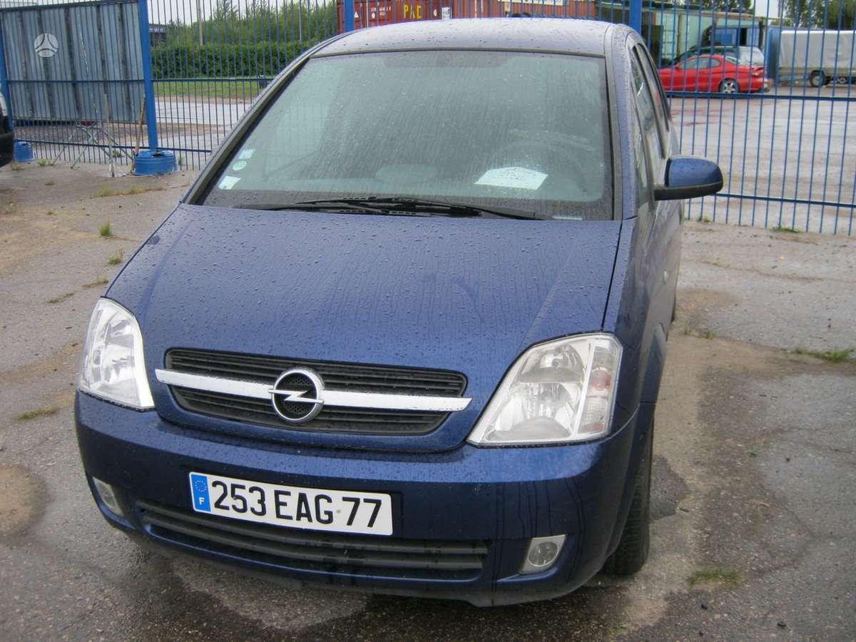 Opel Meriva dalimis. 74kw  ir 55kw. masina  is prancuzijos.