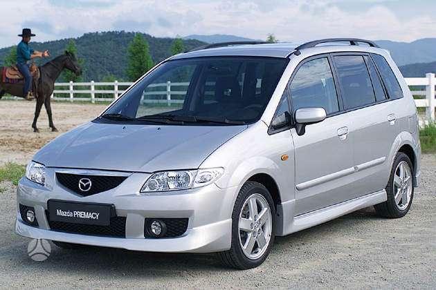 Mazda Premacy dalimis. 66kw masina is prancuzijos.uzsiveda  ir