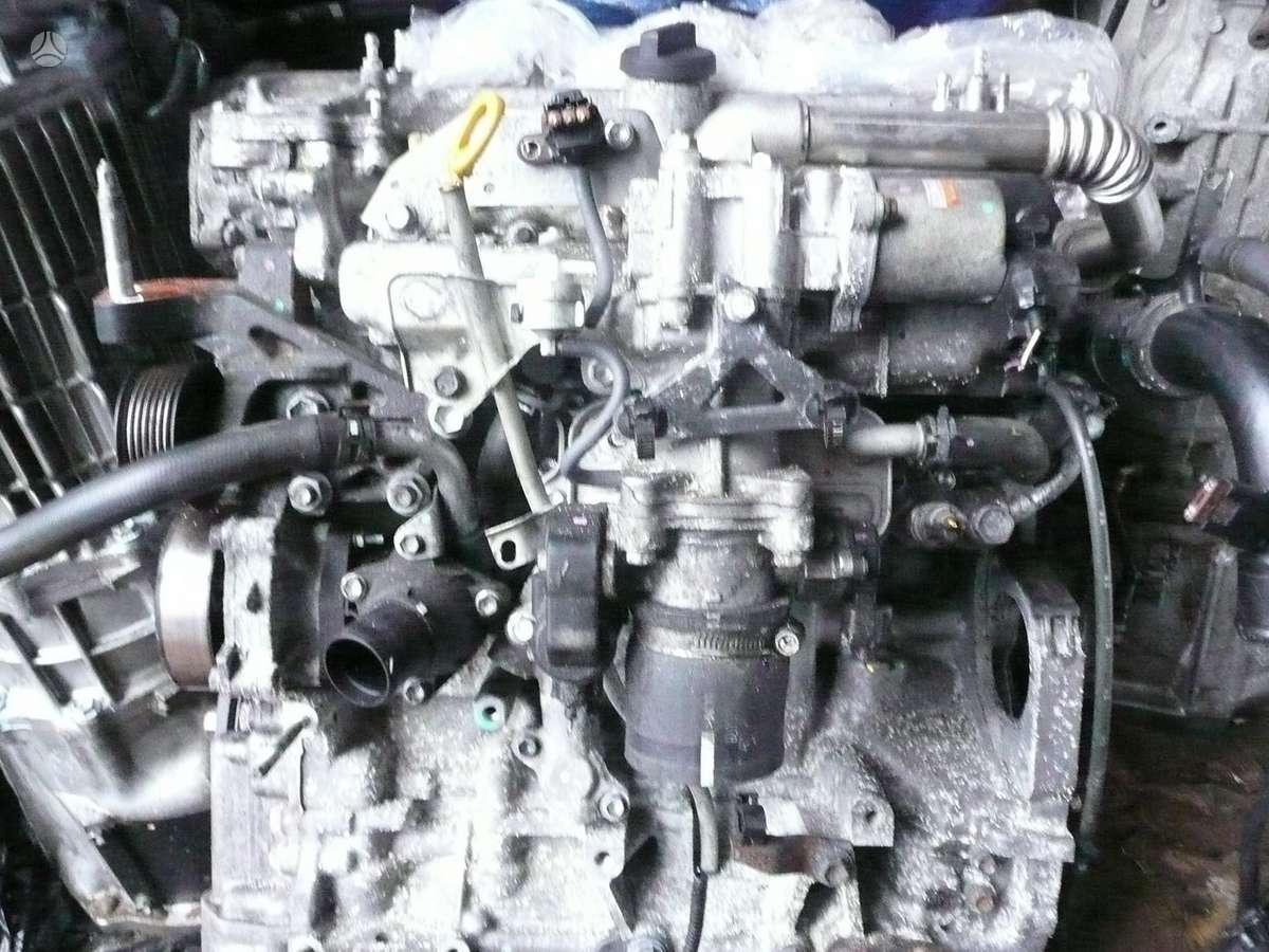 Toyota Avensis. Yra variklis ir 2.2d4d