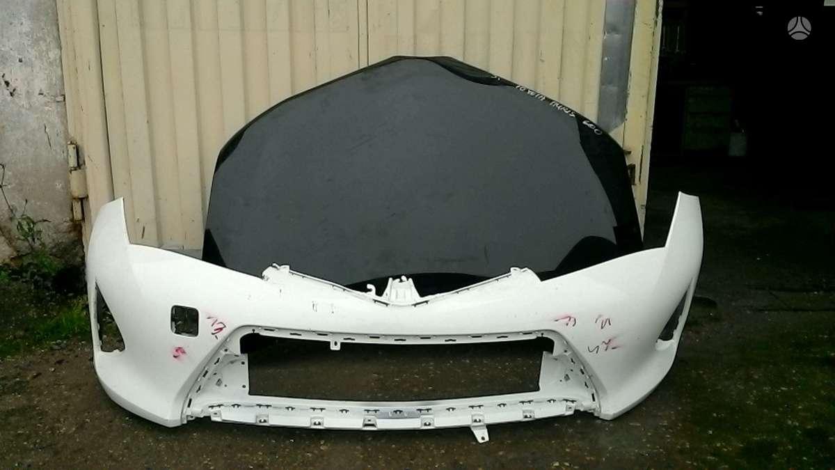 Toyota Auris. Prekyba auto dalimis naudotomis europietiškiems,