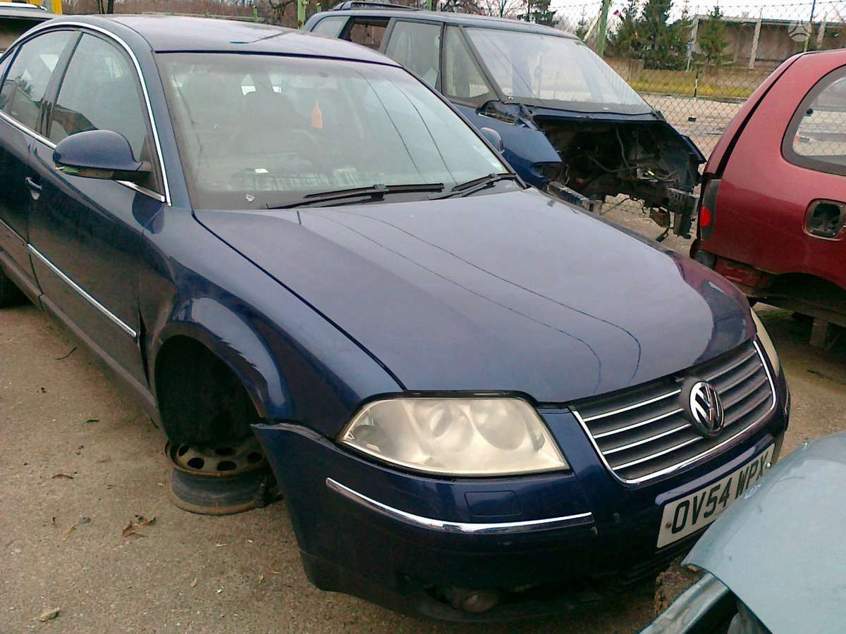 Volkswagen Passat. Perkame automobilius ardymui. gali būti dauž