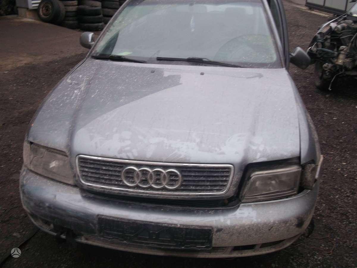 Audi A4 dalimis. Audi a4 1.9tdi 81kw quatro, , dalimis, webasto,
