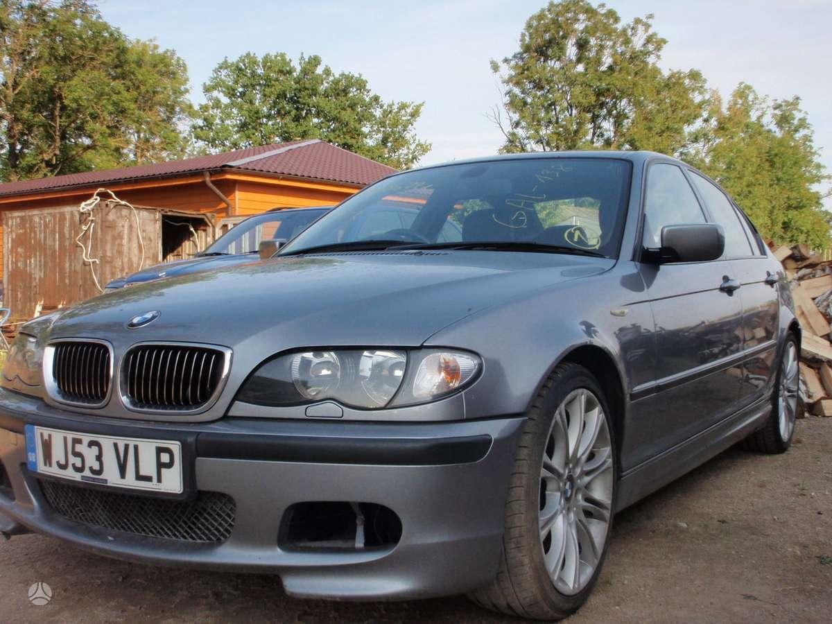 BMW 3 serija dalimis. E46 sedan, coupe, compact, cabrio, touring