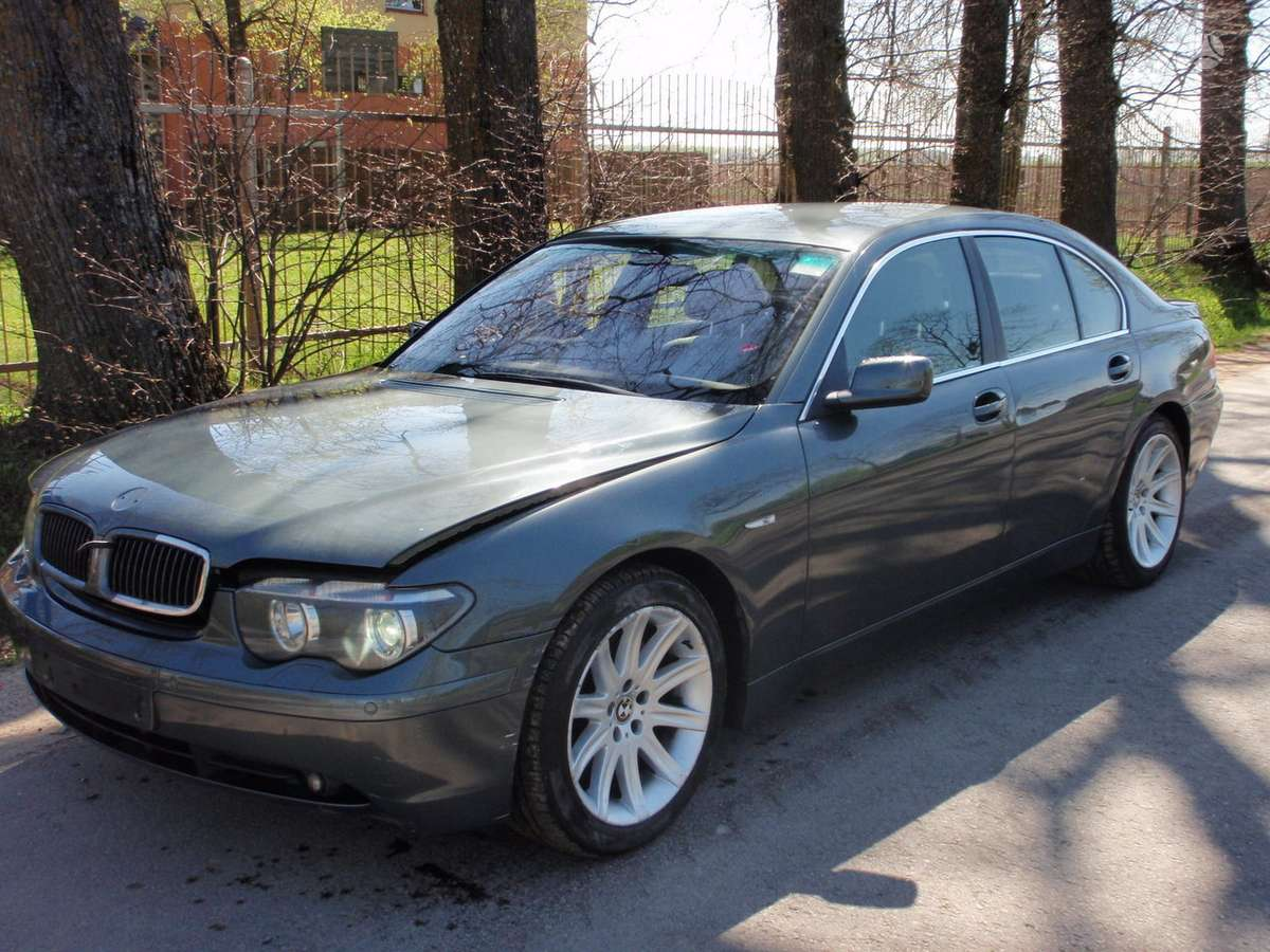 BMW 7 serija dalimis. Bmw730d 2002-2007m. dalimis bmw730i 2004m.