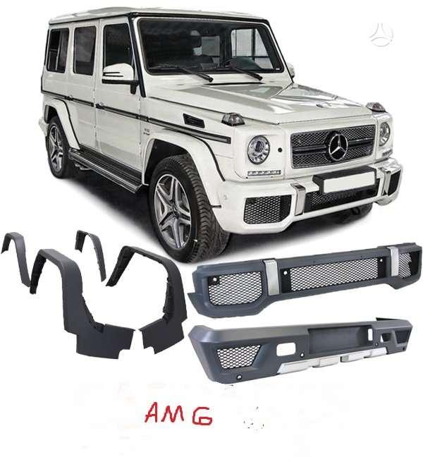 Mercedes-Benz G klasė. Amg g63 komplektai su pdc skylemis -nauji
