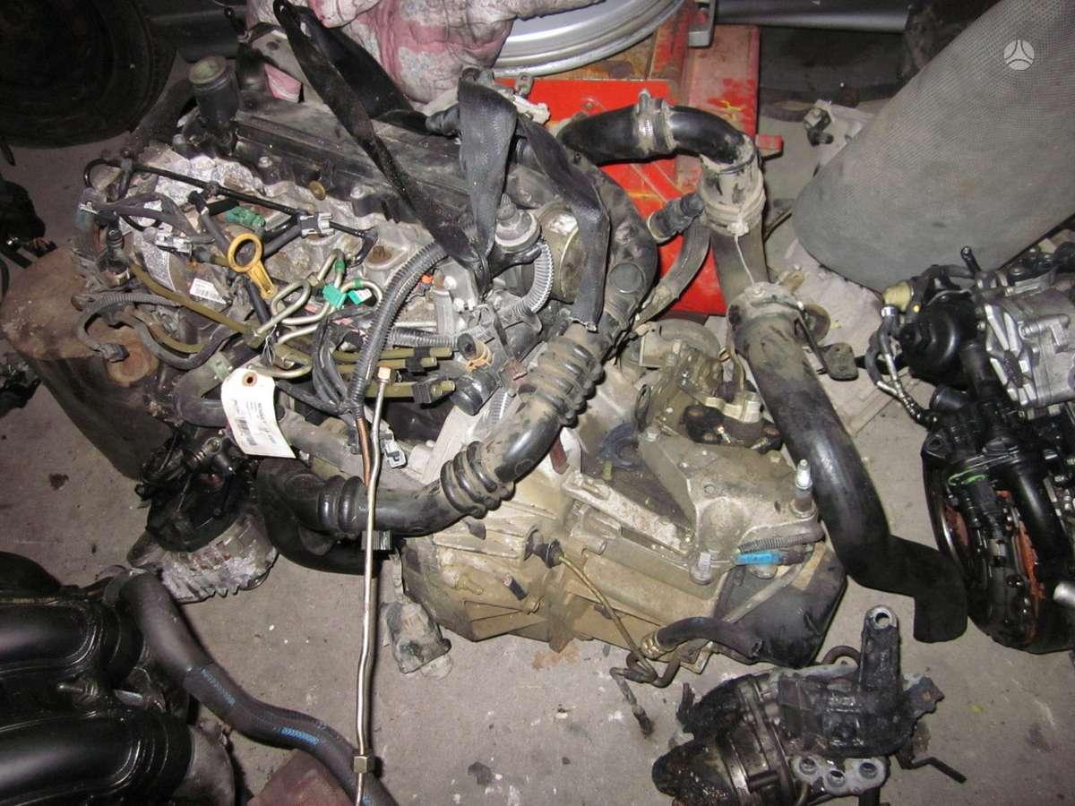 Renault Kangoo. Visas variklio skyrius yra daugiau ardomu auto