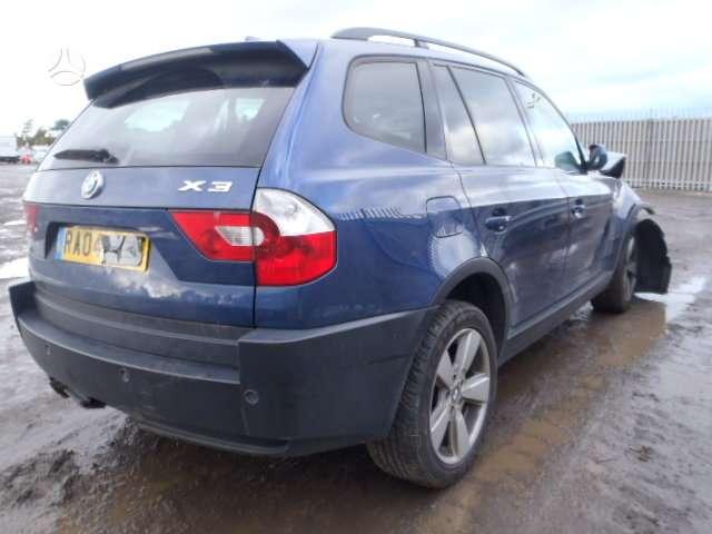 BMW X3. Bmw x3 2004m. ,sport paketas,juodas rekaro salonas,tv,