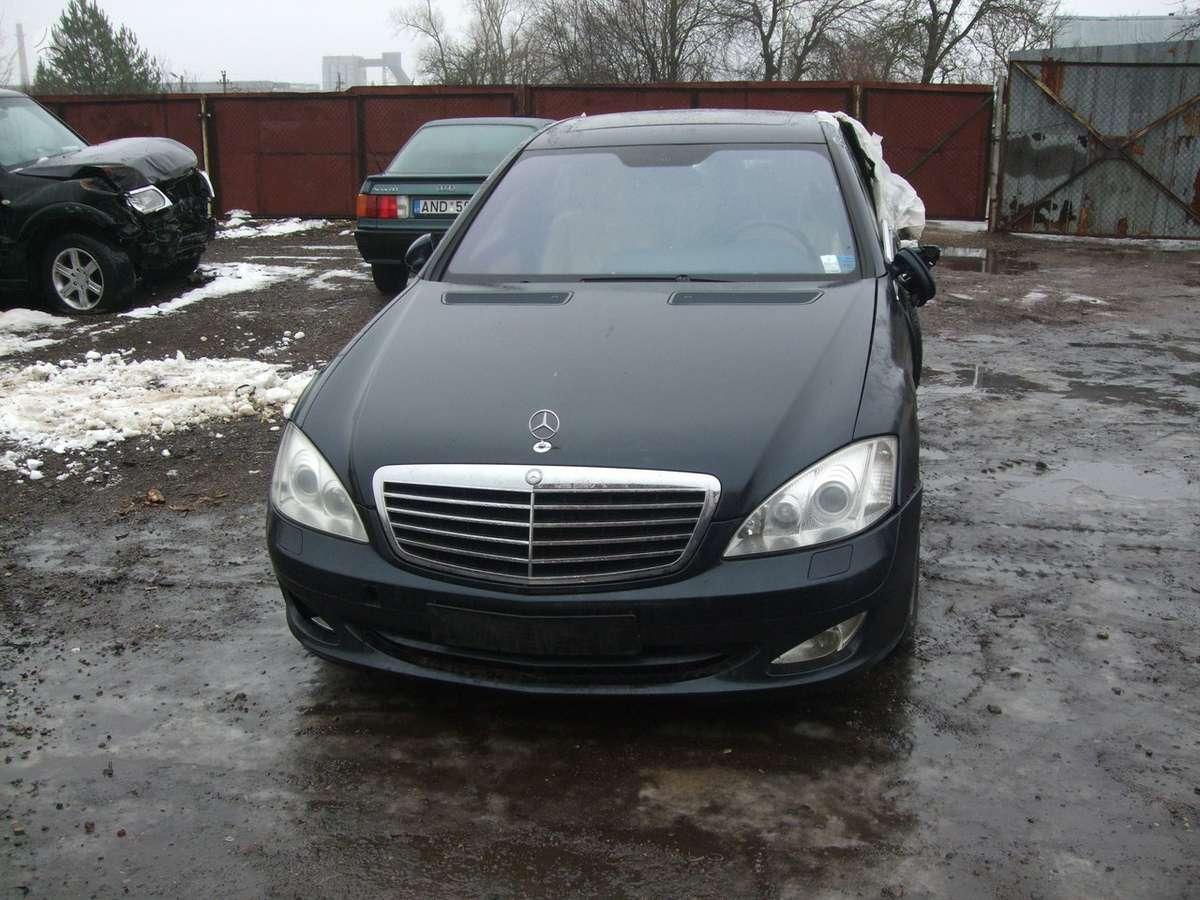 Mercedes-Benz S klasė dalimis. доставка бу запчастей с разтаможко
