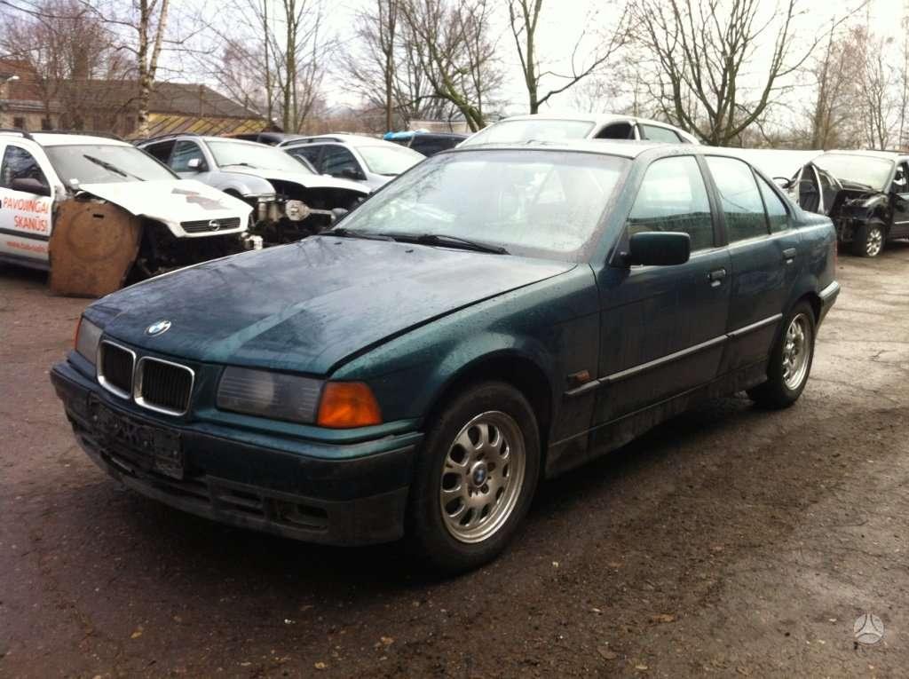 BMW 3 serija. 1.8l tds naudotos automobiliu dalys japoniski ir