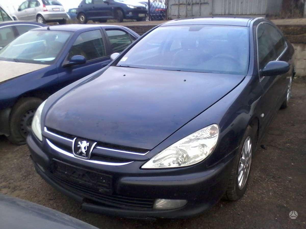 Peugeot 607 dalimis. Turime ivairiu prancuzisku automobiliu