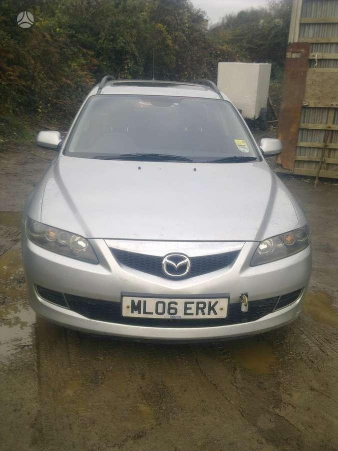 Mazda 6. Msina dalimis.ira geras variklis,ira ir variklis