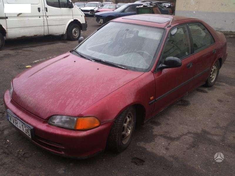 Honda Civic dalimis. Ardomas dalimis
