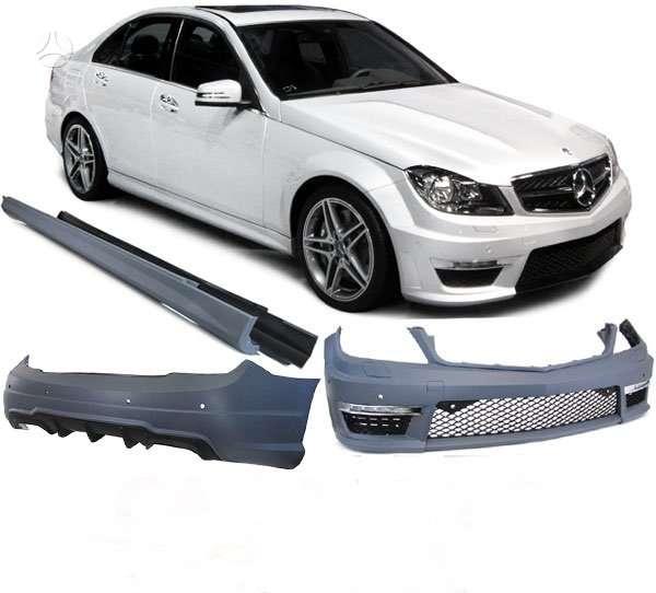 Mercedes-Benz C klasė. tuning dalys.amg c63 komplektai -