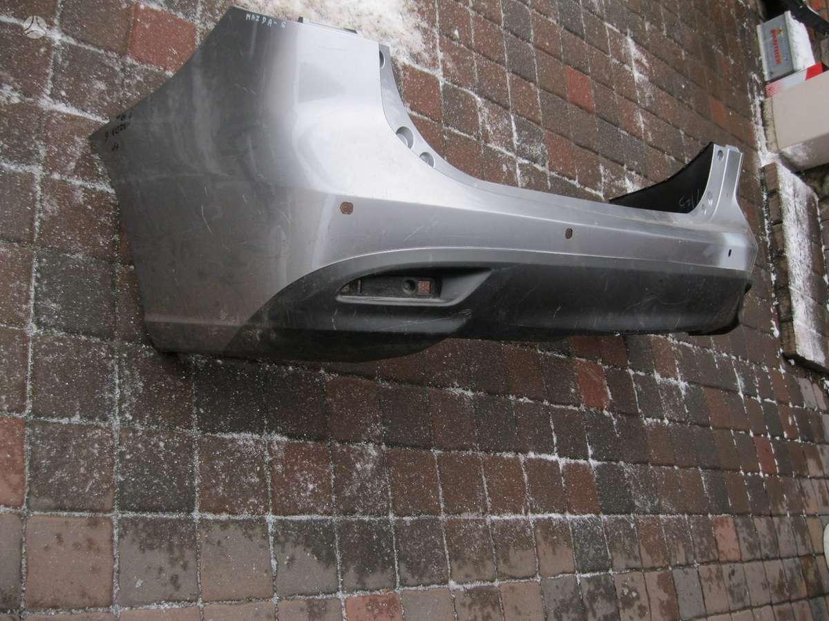 Mazda 5. Gal. buferis---- žibintas