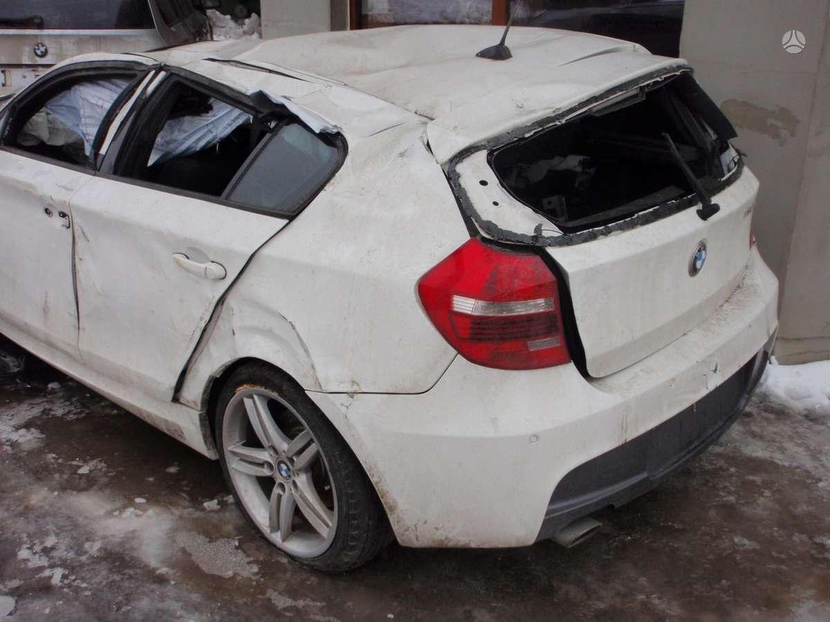 BMW 116 dalimis. Bmw 120-123d coupe 2008-2010m. dalimis bmw
