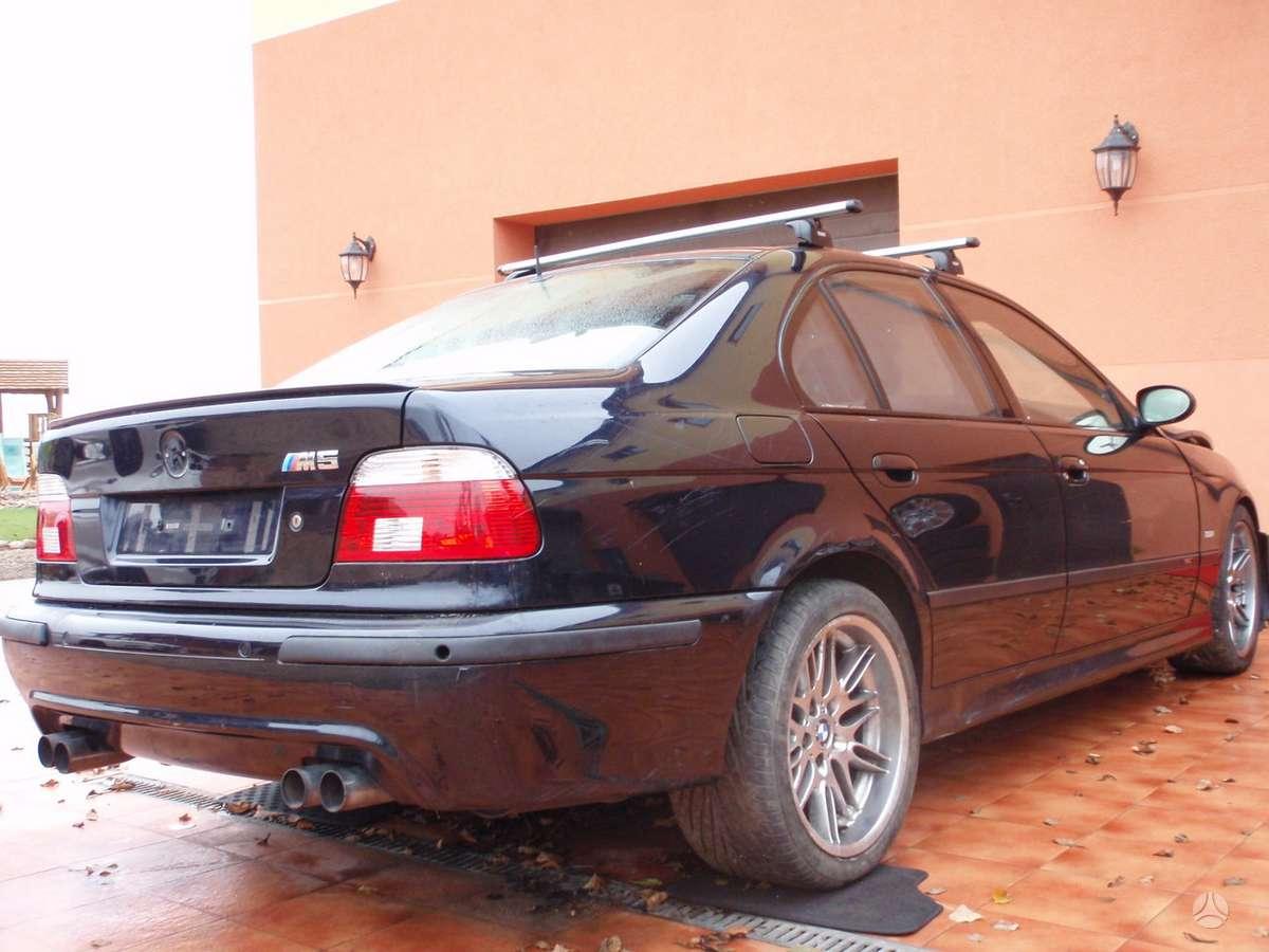 BMW M5 dalimis. Bmw e39 m5 1999-2000m. dalimis  bmw e34 m5