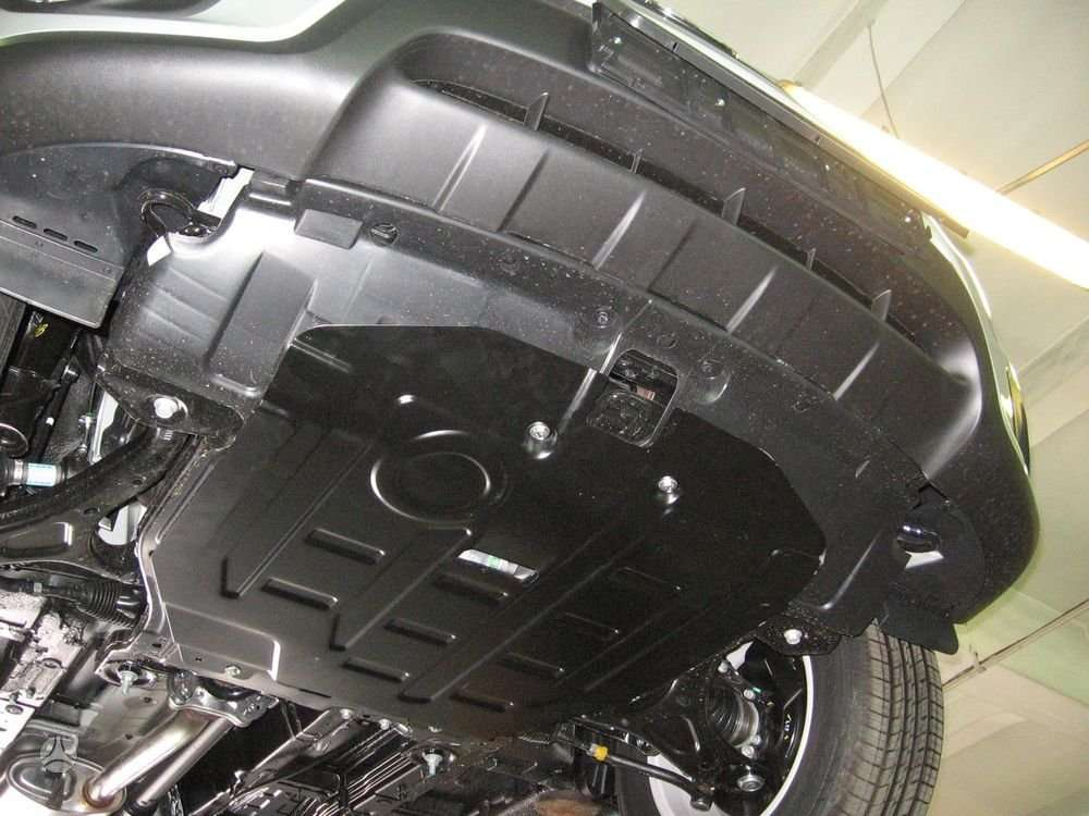 Hyundai Santa Fe. Karterio apsauga hyundai santa fe nuo 2006 iki