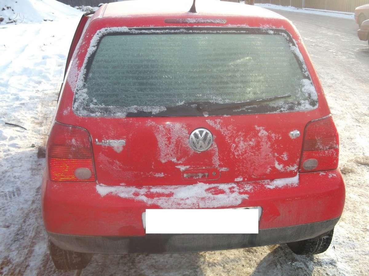 Volkswagen Lupo dalimis. Volksvagen lupo 00m. 1.4 16v, , dalimis,