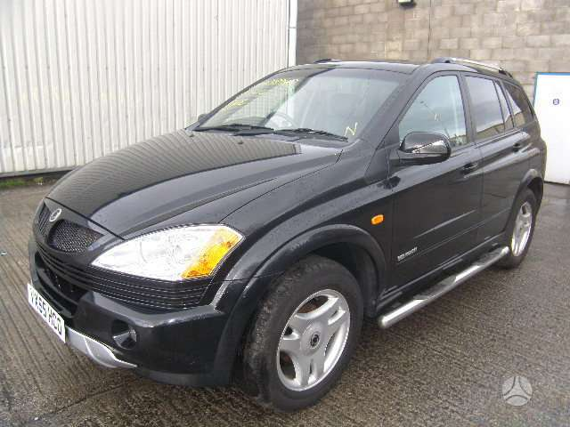 SsangYong Kyron dalimis. Is anglijos, srs, abs, lieti ratlankiai
