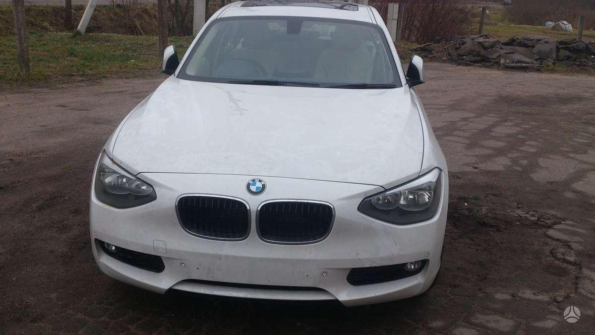 BMW 116. Galiniai led zibintai
