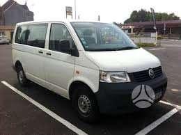 Volkswagen Transporter dalimis. Keleivinis,deze gero stovio!!