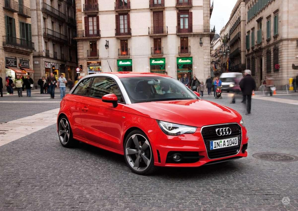 Audi A1. Naujų originalių automobilių detalių užsakymai