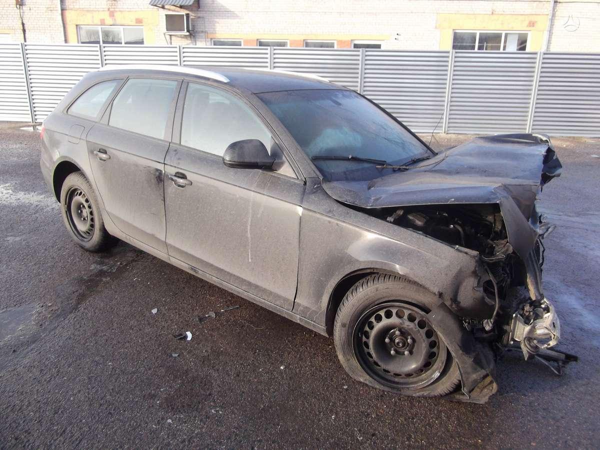 Audi A4. Dalis pristatome panevėžio mieste ir visoje lietuvoje