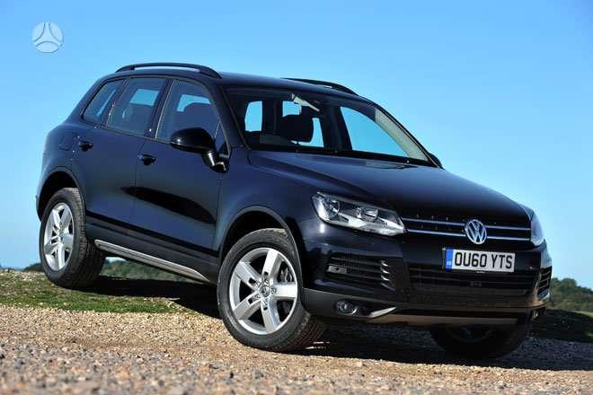 Volkswagen Touareg. Naujų originalių automobilių detalių už