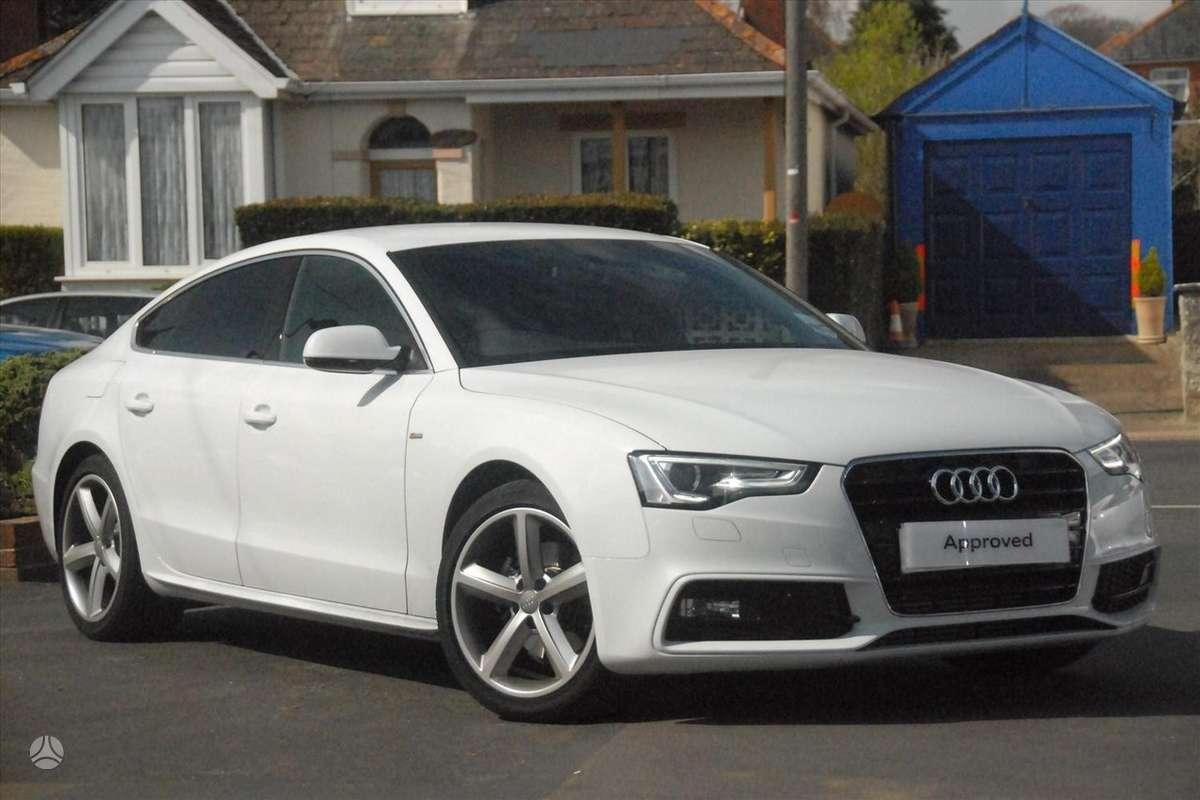 Audi A5. Naujų originalių automobilių detalių užsakymai