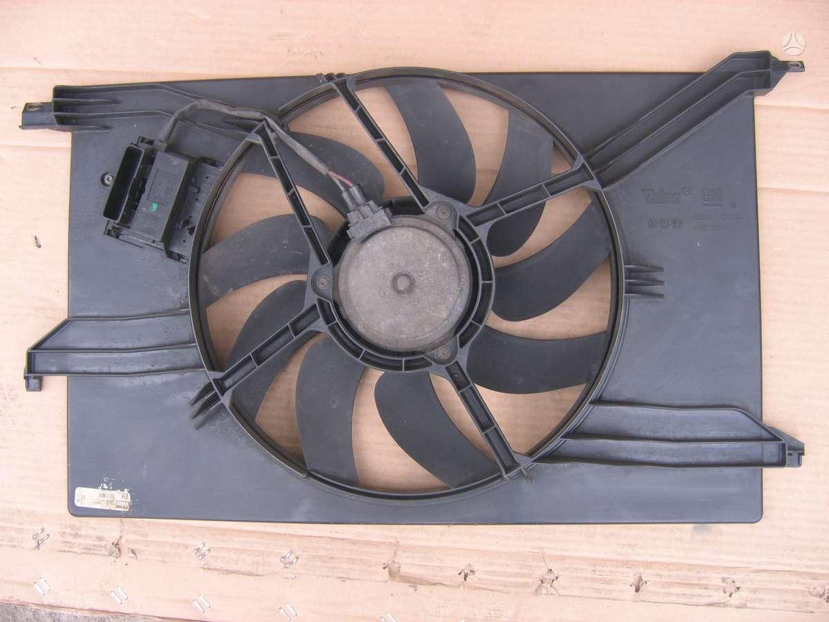 Fiat Croma kondicionieriaus radiatorius, vandens radiatorius