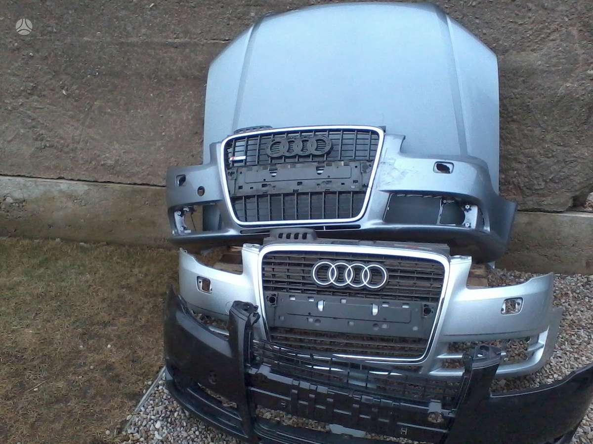 Audi A4. Priekinis buferis ,pr .sparnai ,pr .xenon,bi-xenon ir