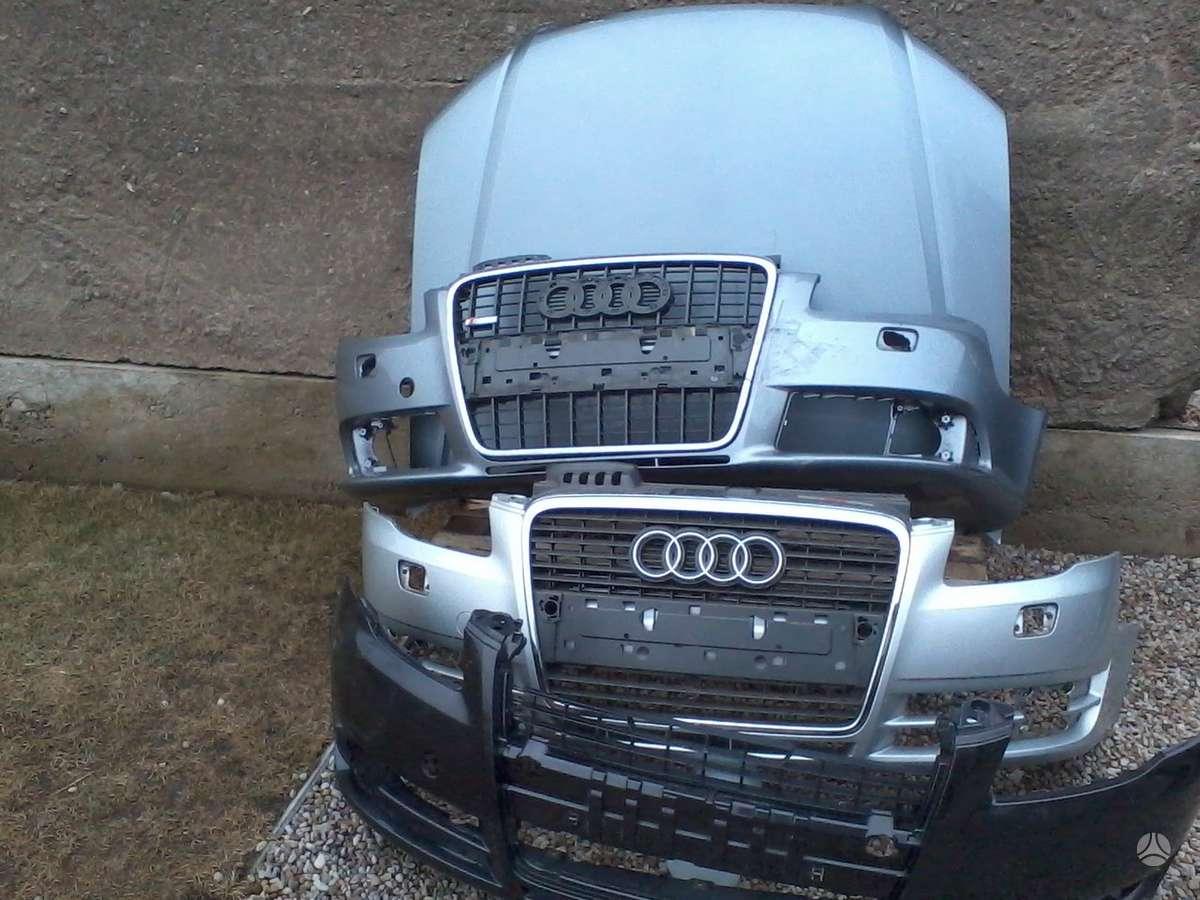 Audi S4. S-4, s-3, s-6, pr.buferiai, sparnai, pr.kapotas[
