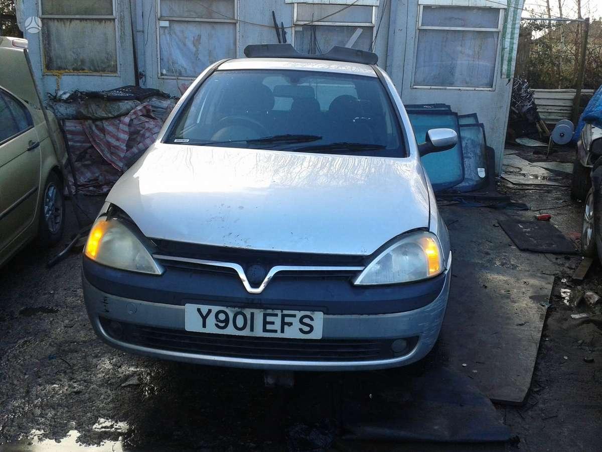 Opel Corsa. 1.7dyz dalimis skambinti tel:370 691 36489,